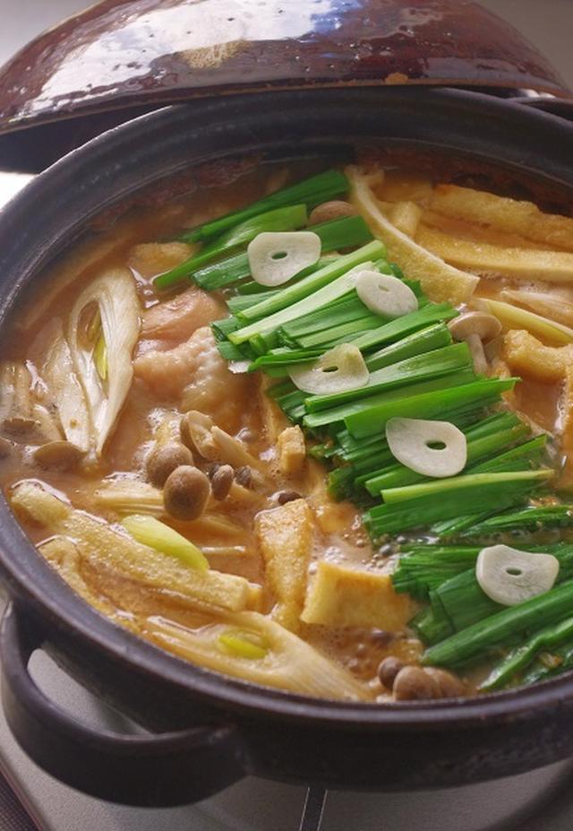 鶏肉の土手鍋