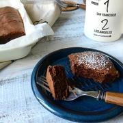 バットで簡単♪しっとりチョコレートチーズケーキ♡バレンタインスイーツ♡シロカトースター型番