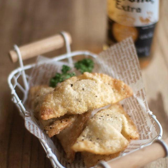 紫蘇ツナチーズ揚げ餃子。