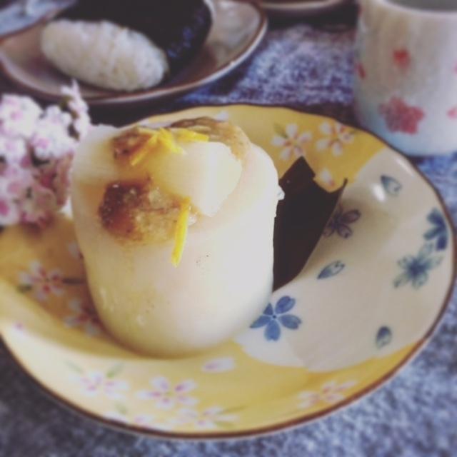 分厚い厚み6㎝のふろふき大根~柚子胡椒味噌だれかけ~
