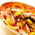 紫大根とパリパリ豚肉の温サラダ♪ by Lau Ainaさん
