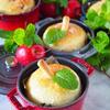 林檎の形のりんごパン 簡単バージョン