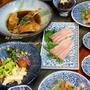 ◆カンパチポキ風にカマ煮~8.3キロカンパチ♪