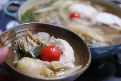 ★ 味噌キノコきりたんぽ&子持ち鮎塩焼き
