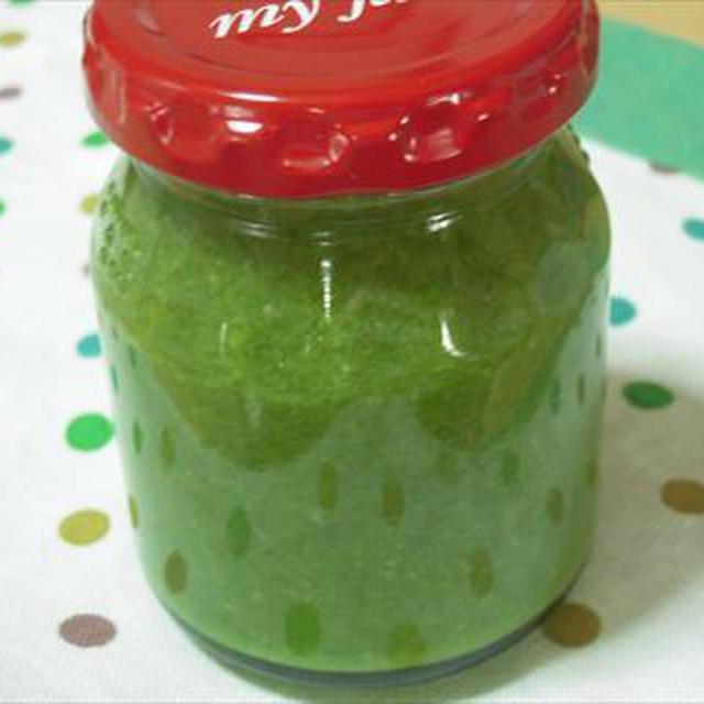ジェノバソース・自家製バジルで鮮やかグリーン