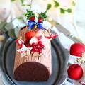 12月お菓子づくりの会とブッシュドノエル。