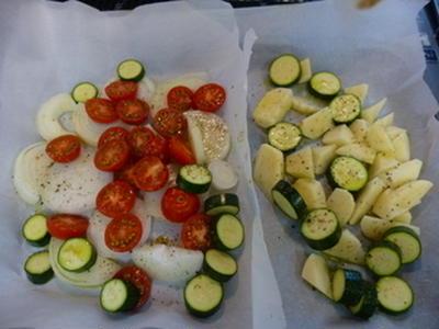 夏野菜のキッシュ