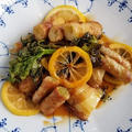 【レシピ】肉巻きセルリー✩レモンソース