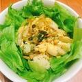 【簡単&節約】卵ときのこの温サラダ