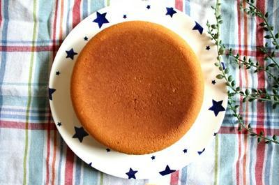 【簡単!炊飯気で】材料4つのスポンジケーキ♪詳しい工程写真付き