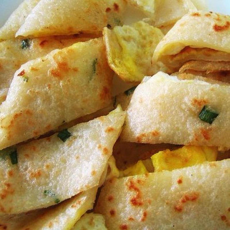 朝食やおやつにいかが?台湾屋台の味「蛋餅」レシピ