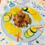 鶏てりやきのたれで作る♪野菜と食べる鶏のてりやき♡