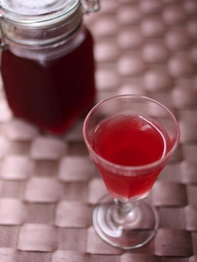 赤紫蘇ジュースとおまけ