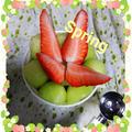 春springフルーツカップcake