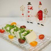 ローズマリー香る☆塩豆腐のカプレーゼ♪
