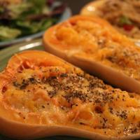 バターナッツ☆お野菜たっぷりかぼちゃグラタン