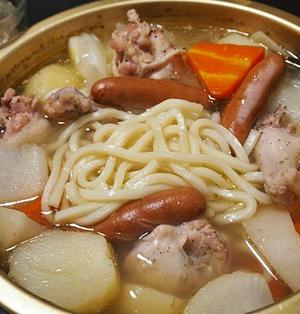 鶏手羽元のポトフ的・洋風鍋