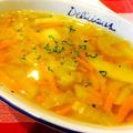 セロリ入り★あったか野菜スープ