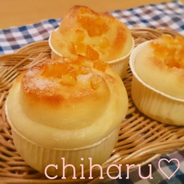♡ふわっふわ〜♡オレンジ香るふんわりパン