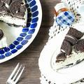 焼かずにできる♪オレオのレアチーズケーキ【こどもの日のサプライズプレゼント】