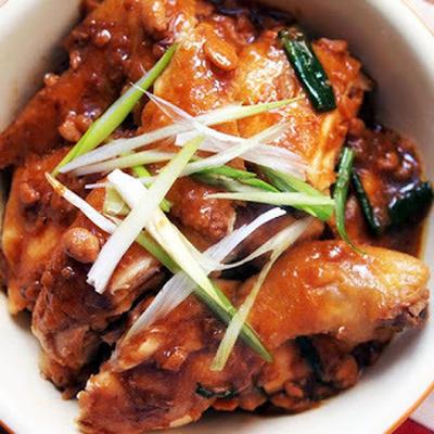 豆瓣醬燜雞│鶏の豆板醤焼き