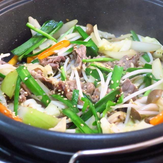 韓国風すき焼き 「プルコギ鍋」