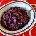 【北欧】デンマークの紫キャベツの蒸し煮リュドコール Rødkål