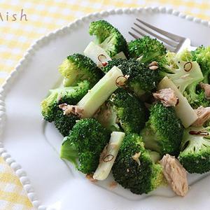 ササッと出来る!野菜が主役の「ペペロンチーノ」風おかず