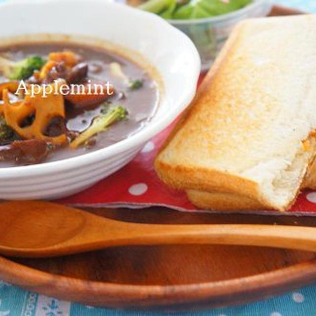 ◆より食べやすくレシピ改良◆蓮根入りコストコ牛タンのビーフシチュー