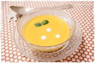 色々野菜のポタージュスープ