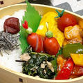 【お弁当】お弁当作り/フライパン1つでお弁当/酢鶏