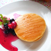 ヨーグルトパンケーキ【パンケーキを焼きムラなく綺麗に焼くコツ】