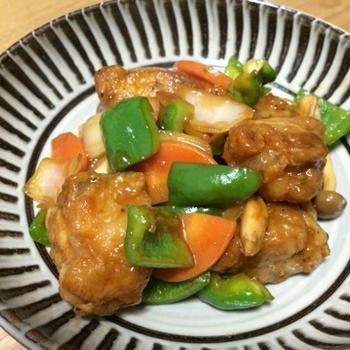 フィリップスノンフライヤープラスで作る☆鶏肉の甘酢あん