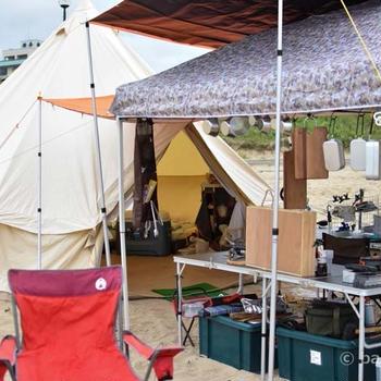 2020年夏海キャンプ!キッチン充実・極上低温調理ローストビーフ&メスティン飯
