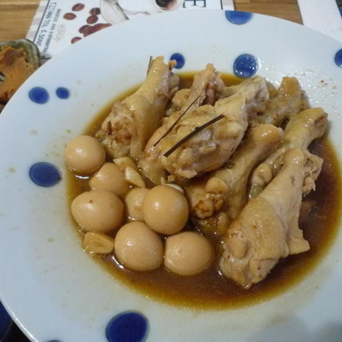 鶏とウズラのさっぱり煮