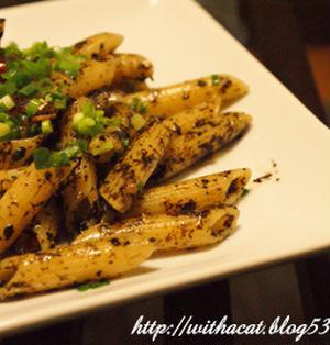 海苔の佃煮ペペロンチーノ