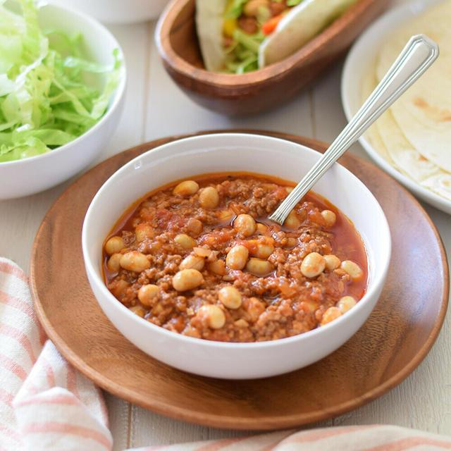【スパイスアンバサダー】大豆のチリコンカン♡GABANスパイスで本格派の味を楽しもう!
