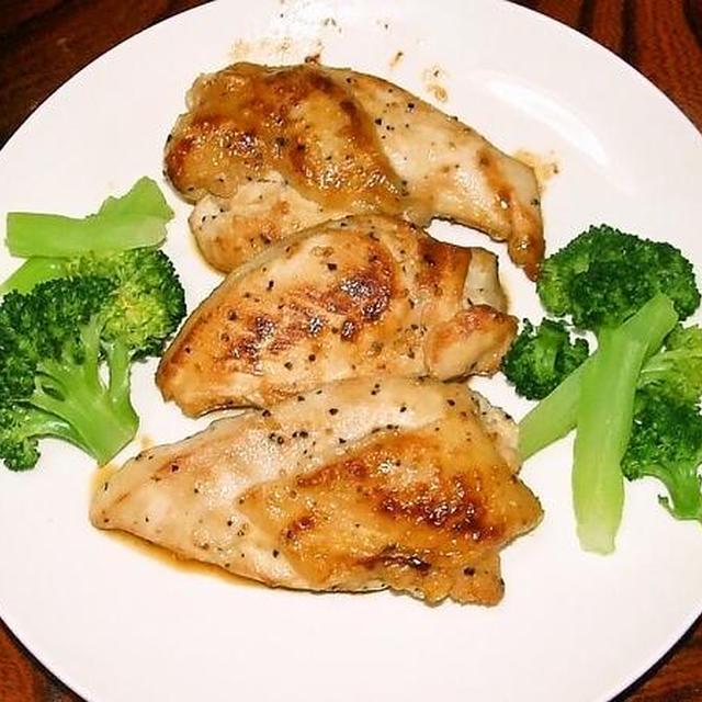 鶏むね肉のレモン焼き&ピーマンの納豆チーズ焼き&豆芋