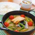 さんまのアクアパッツア風&青梗菜とベーコンの酒粕ミルクスープ by アップルミントさん