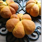 【ハロウィン】かぼちゃの立体パンと笑いながら…ちょっと違うなっ!