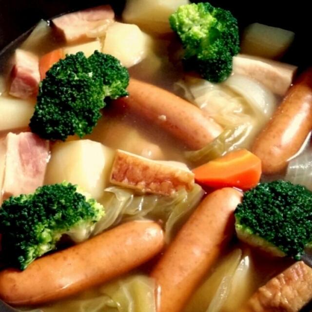 【レシピ】 *野菜ごろごろ栄養満点ポトフ