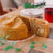 HMで♪りんご×紅茶の簡単ケーキ♡