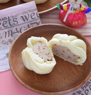『肉まん』を電子レンジとホットケーキミックスで作る方法♡レシピブログアワード2017