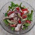 鶏肉と野菜のバルサミコ酢風味サラダ