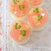 桃のレアヨーグルト