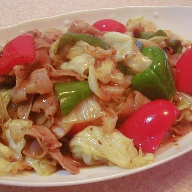 回鍋肉&ワンタンスープ
