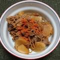 牛肉と糸こんにゃくと新生姜のしぐれ煮