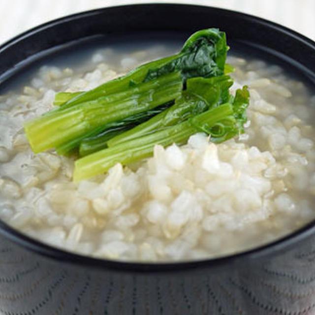 玄米のおかゆ(2人分)