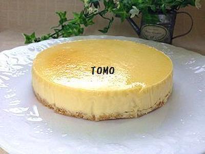 濃厚&ヘルシー♪お豆腐のNYチーズケーキ