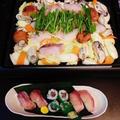 ご褒美の寒鰤づくし寿司☆彡鱈と牡蠣の蒸し鍋♪☆♪☆♪ by みなづきさん